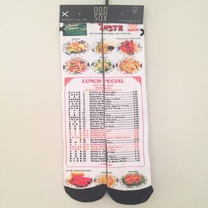 Chinese Menu socks